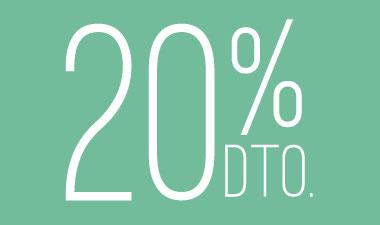 Descuentos 20%